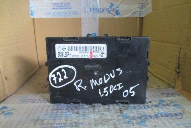 Caixa fusiveis 8200528487 renault modus 2005 1.5dci