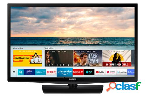 "Samsung series 4 n4305 61 cm (24"") hd smart tv wi-fi preto"