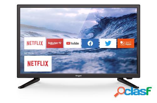 "Engel le 2482 sm 61 cm (24"") hd smart tv wi-fi preto"