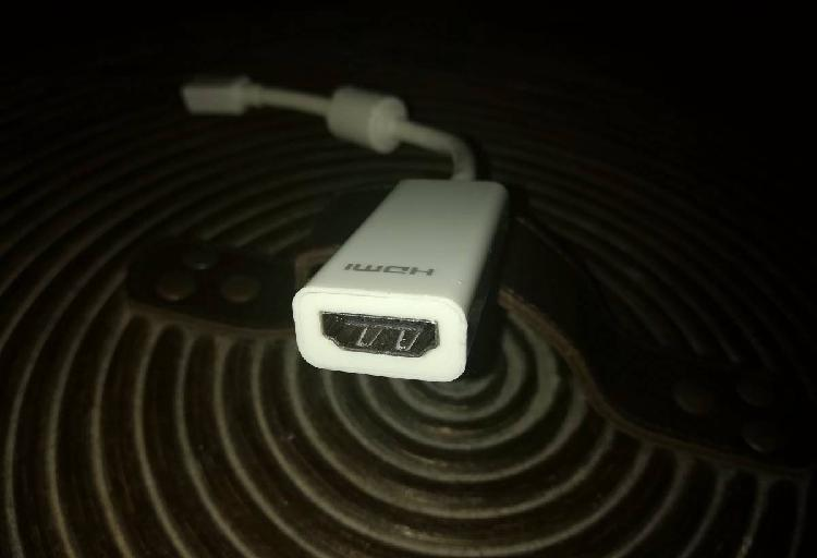 Adaptador mini displayport hdmi macbook
