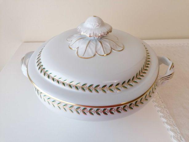 Terrina/ prato coberto vista alegredecoração maria
