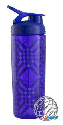 Blender bottle sportmixer tritan signature sleek roxo 820 ml rosa