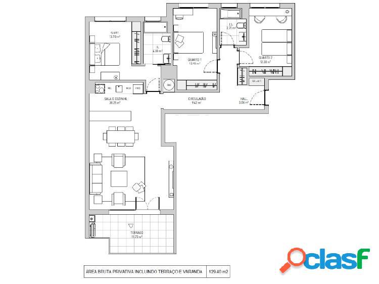 Apartamento t3 venda loures