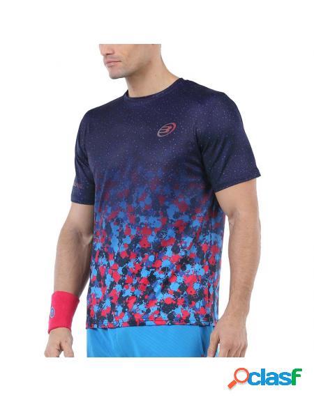 Camiseta azul bullpadel urano 2020 - roupa padel bullpadel