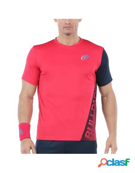 Camiseta rosa bullpadel ugur 2020 - roupa padel bullpadel