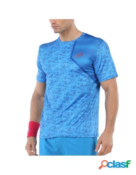 Camisa azul bullpadel uriarte 2020 - roupa padel bullpadel
