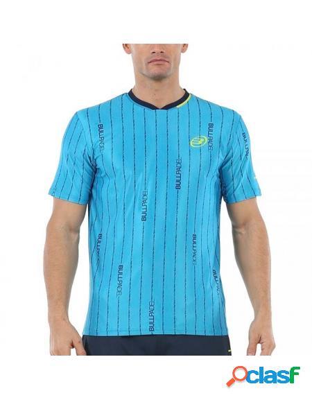 Bullpadel artigas 2020 camiseta azul - roupa padel bullpadel
