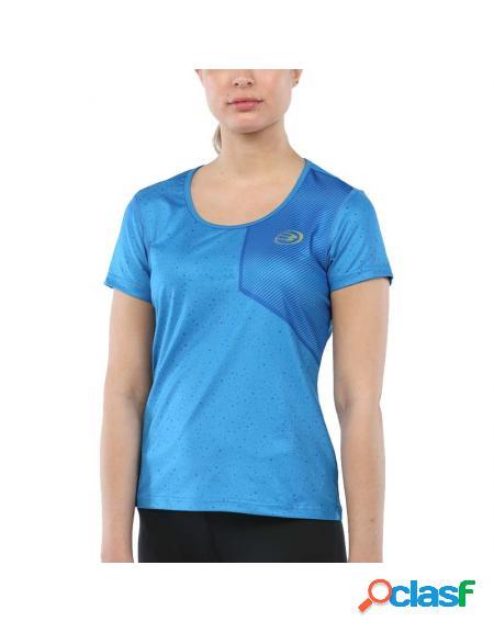 Camiseta azul bullpadel deuce 2020 - roupa padel bullpadel