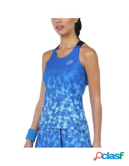 Camiseta azul bullpadel dombel 2020 - roupa padel bullpadel