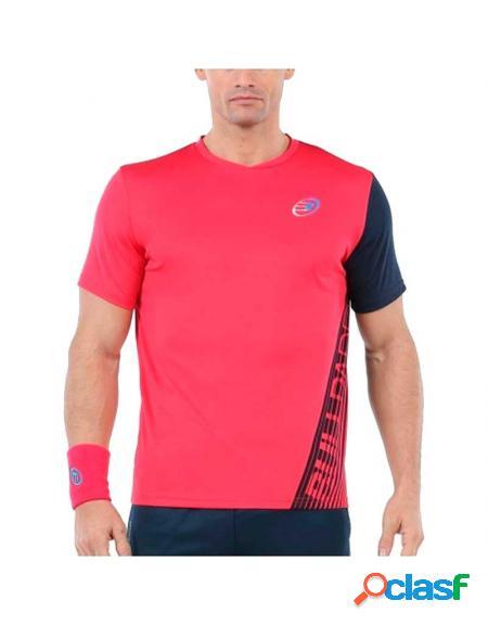 Camiseta rosa bullpadel urpa 2020 - roupa padel bullpadel