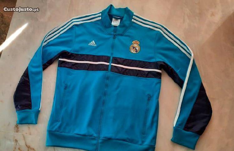 Casaco desportivo homem adidas real madrid futebol
