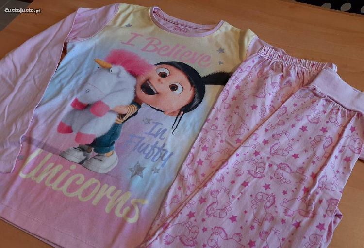 10/11a - pijama unicórnio