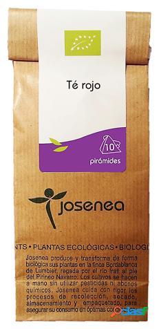 Josenea chá vermelho com frutos da floresta biológica. granel 50 gr.