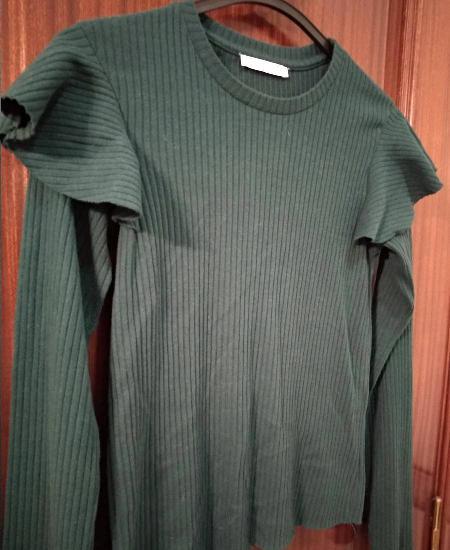 Camisola verde tropa