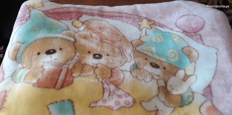 Cobertor cama grades bebé - impecável