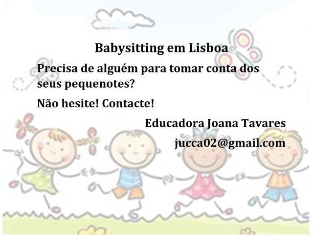 Explicações e babysitting