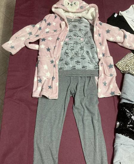 Pijama e robe tam 8anos