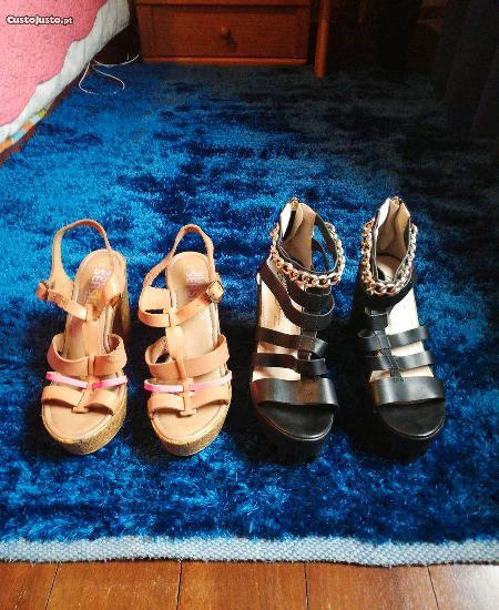 Sandálias seaside novas