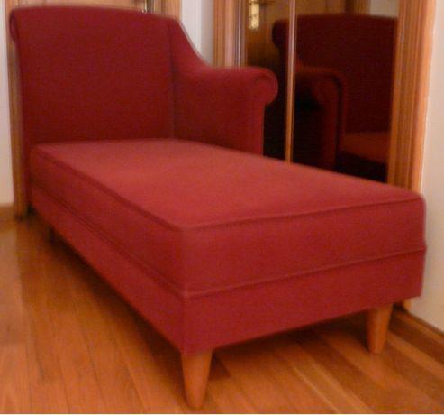 Sofá chaise longue/divan de psicólogo