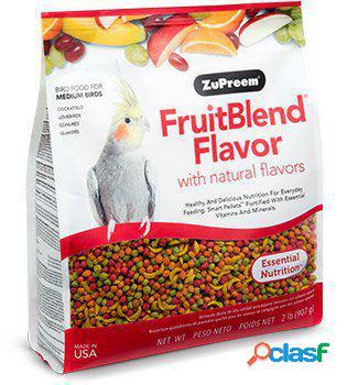 Zupreem snacks multifrutas para calopsita e periquitos fruitblend