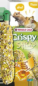Versele laga hamsters-gerbils honey sticks 2 pieces 110 gr