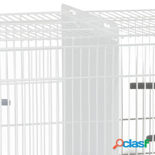Voltrega gaiola de metal de separação 320 branco