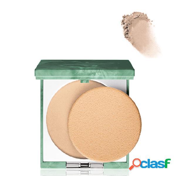 Clinique superpowder double face. pó compacto cor 02 matte beige 10gr