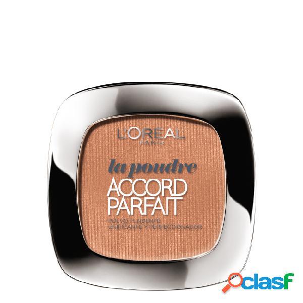L'oréal accord parfait pó compacto cor d7 cinnamon 9gr