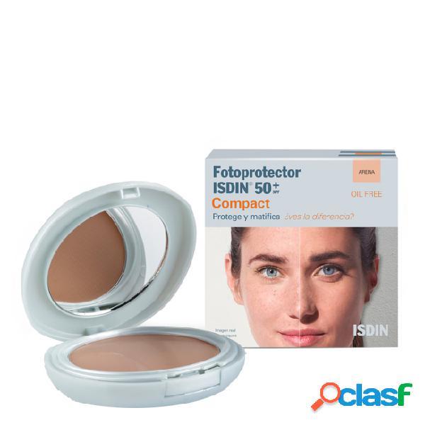 Isdin fotoprotetor compacto fps50+ cor areia 10gr