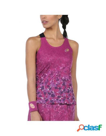 Camiseta roxa bullpadel dombel 2020 - roupa padel bullpadel