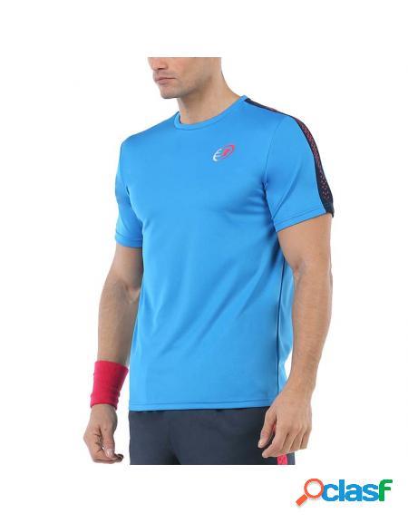 Camiseta azul bullpadel urkita 2020 - roupa padel bullpadel