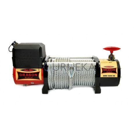 Guincho eléctrico cabo aço, 12000lbs 12v/24v