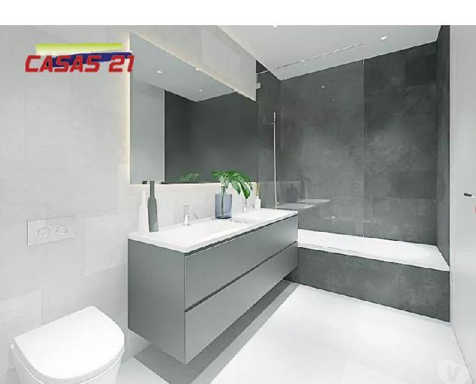 T1 Novo - Terraço com 30 m2 - Único - Metro