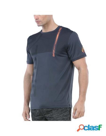 Camisa de antracito Bullpadel Ritan 2020 - Roupa padel Bullpadel
