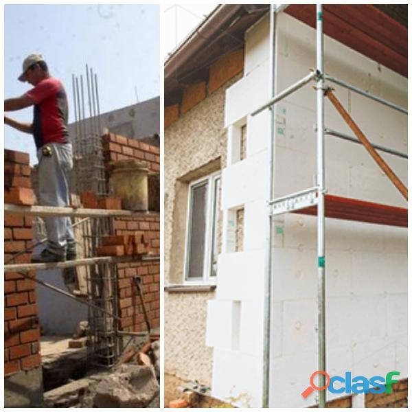 Construções moradias e remodelações