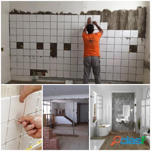 Remodelações gerais pintura interior pladur renovação cozinhas