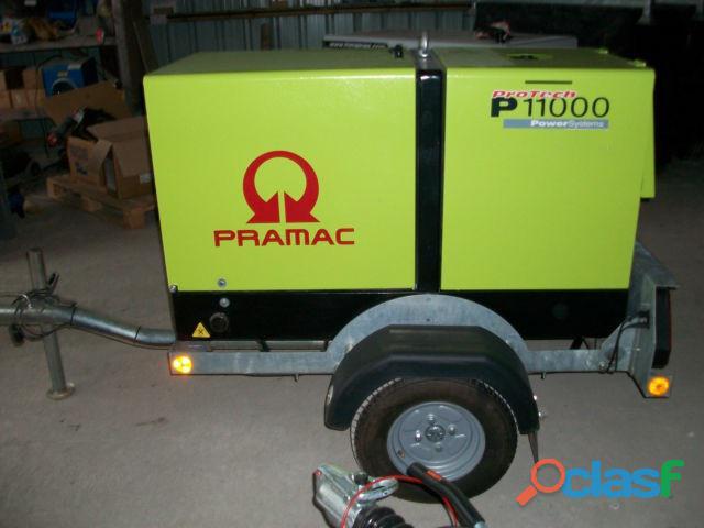 Gerador pramac p11000 novo
