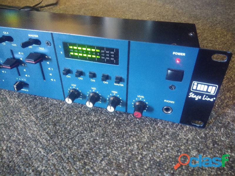 Img stage line mpx 6200 stereo audio mixer mesa mistura dj