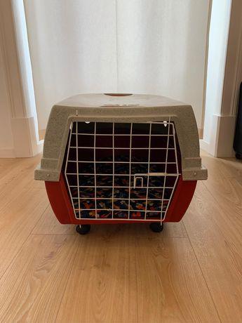 Caixa transporte para cão
