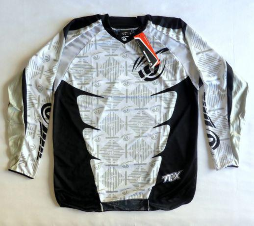 T-shirt camisola drenaline enduro motocross nova tamanho xl