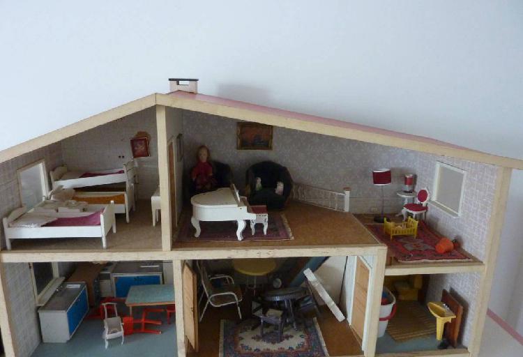 Casa de bonecas vintage lundby suécia anos 70