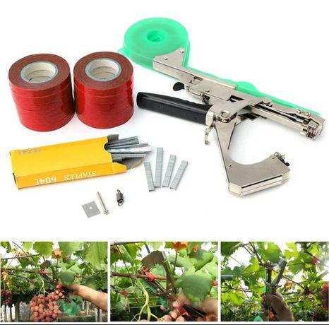 Máquina de atar ramos videira, kiwis, árvores, mirtilos,