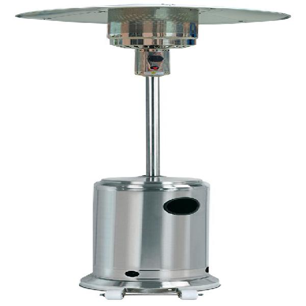 Aquecedor de exterior a gás (butano/propano) 13000w inox -