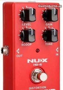 Pedal de distorção nux - high gain
