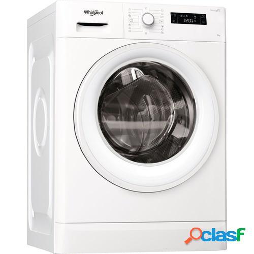 Whirlpool fwf91283w eu máquina de lavar independente carregamento frontal branco 9 kg 1200 rpm a+++