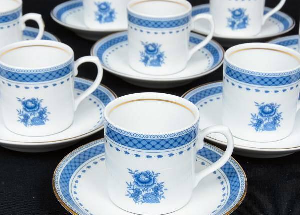 6 chávenas café coz velha- vista alegre