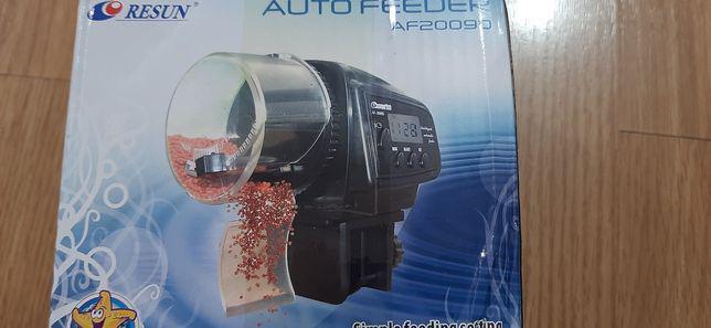 Alimentador automático digital para peixes