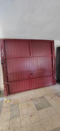 Portão garagem basculante 2,40 x 2,60