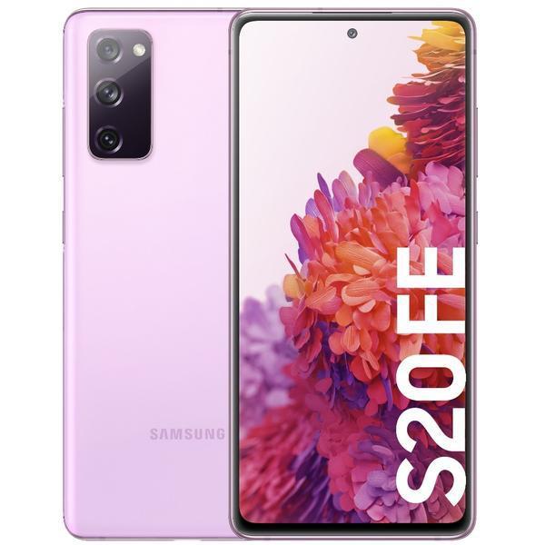Smartphone samsung galaxy s20 fe 4g lavanda - 6.5