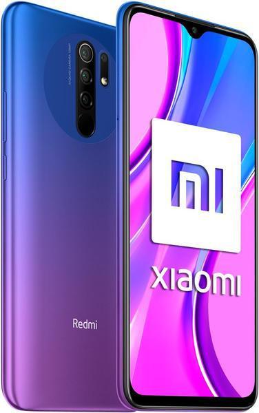 Smartphone xiaomi redmi 9 purpura - 6.53
